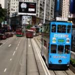 """Die Hong Kong Tramways wird auch """"Ding Ding"""" genannt. Sie verkehrt seit 1904."""