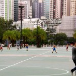 Der Victoriapark lockt Sportler magisch an.