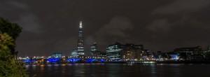 """""""The Shard"""" überragt die Londoner Skyline um ein vielfaches."""