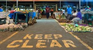 Auf dem Markt von Suva gibt es nahezu alles zu kaufen.
