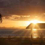 Das obligatorische Sonnenuntergangsbild aus der Südsee.