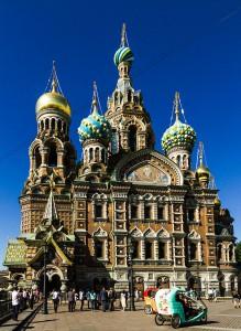 Die Auferstehungskirche mit ihren prächtigen Mosaiken.