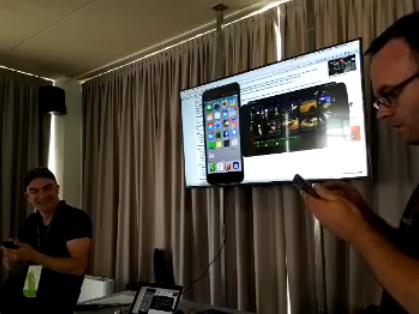 Mit Reflektor kann man sogar den Inhalt mehrerer Geräte gleichzeitig an seinen Mac oder PC senden.