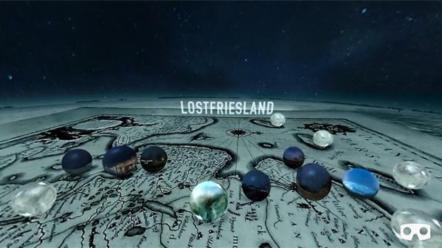 Das Startbild der Lostfriesland-360-Grad-App